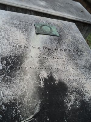 Gravestone of Wade Hampton image. Click for full size.