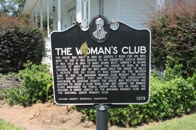 The Woman's Club Marker image. Click for full size.