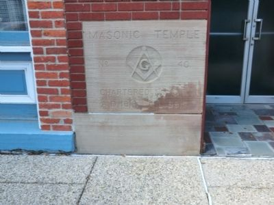 Northern Light Lodge No. 40 Free and Accepted Masons Marker image. Click for full size.