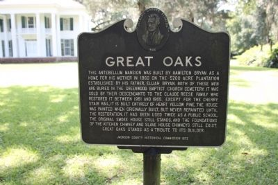 Great Oaks Marker image. Click for full size.