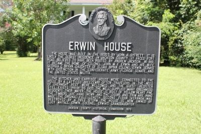 Erwin House Marker image. Click for full size.