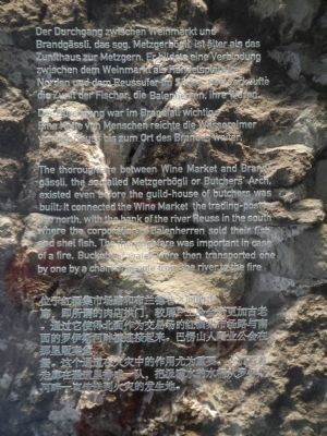 Metzgerbogli or Butchers' Arch Marker image. Click for full size.