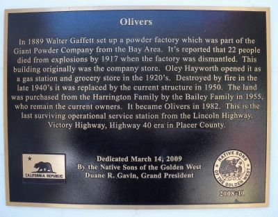 Olivers Marker image. Click for full size.