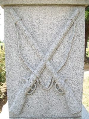 Civil War Memorial Detail image. Click for full size.