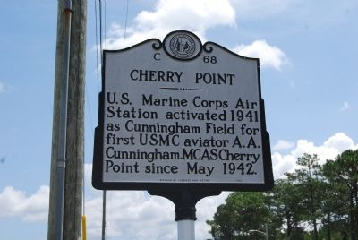 Cherry Point Marker image. Click for full size.