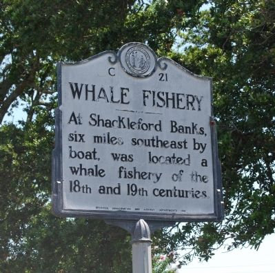 Whale Fishery Marker image. Click for full size.