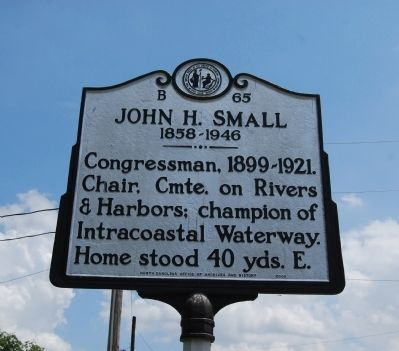 John H. Small Marker image. Click for full size.