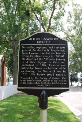 John Lawson Marker image. Click for full size.