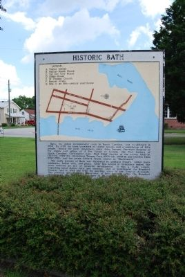 Historic Bath Marker image. Click for full size.