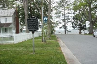 John Lawson Marker as seen looking south image. Click for full size.