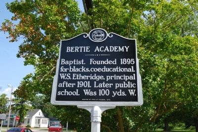 Bertie Academy Marker image. Click for full size.