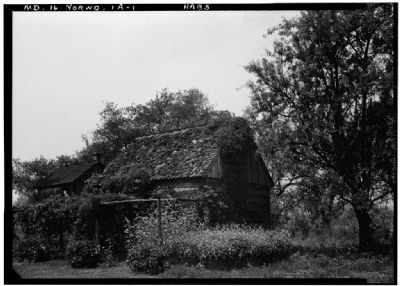 Woodlawn Slave Quarters HABS MD,16-NORWO,1-2 image. Click for full size.