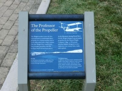 The Professor of the Propeller Marker image. Click for full size.