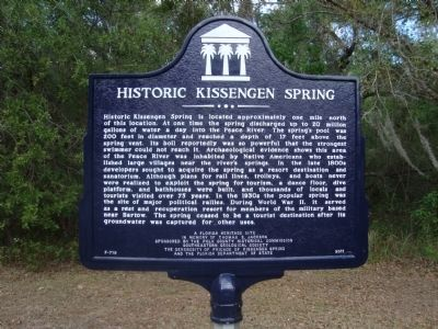 Historic Kissengen Spring Marker image. Click for full size.