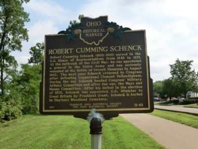 Robert Cummings Schenck Marker image. Click for full size.