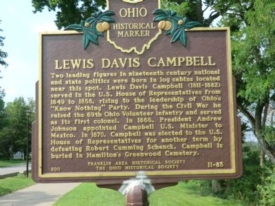 Lewis Davis Campbell Marker image. Click for full size.