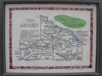 Brown County History Map image. Click for full size.