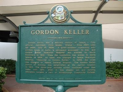 Gordon Keller Marker image. Click for full size.