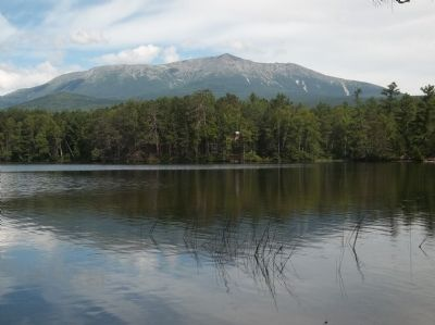 Mount Katahdin image. Click for full size.