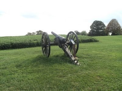 Marker on the Antietam Batlefield image. Click for full size.