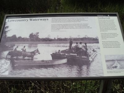 Lowcountry Waterways Marker image. Click for full size.