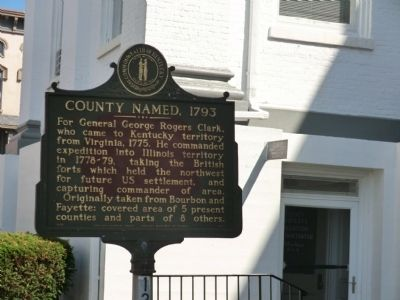 County Named 1793 Marker image. Click for full size.