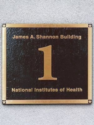 James A. Shannon Building<br>1<br>National Institutes of Health image. Click for full size.