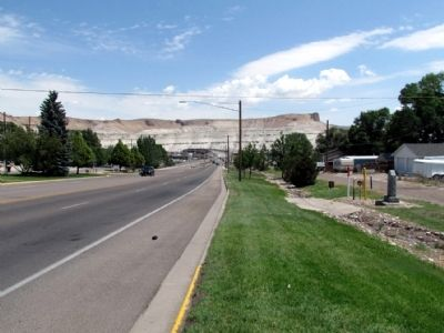 View to north along Uinta Drive (State Route 530) image. Click for full size.