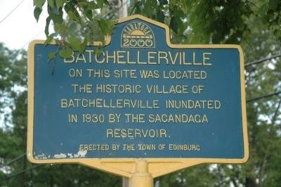 Batchellerville Marker image. Click for full size.