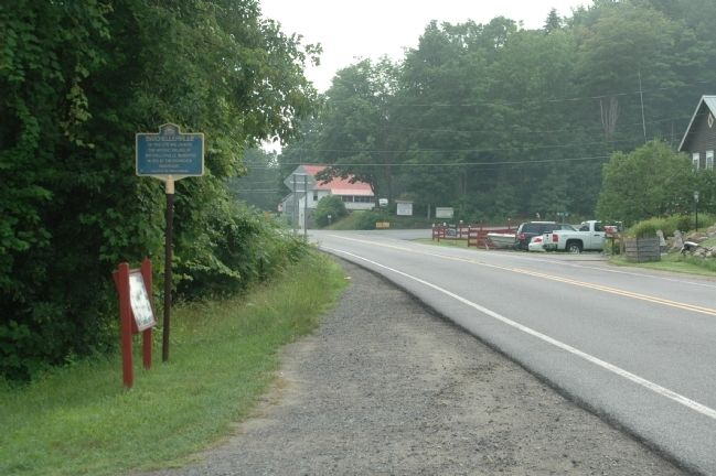 Batchellerville Marker along South Shore Road image. Click for full size.