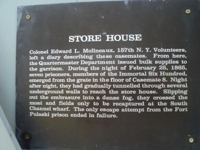 Store House Marker image. Click for full size.
