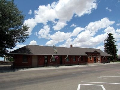 Rocks Springs Railroad Depot Building image. Click for full size.