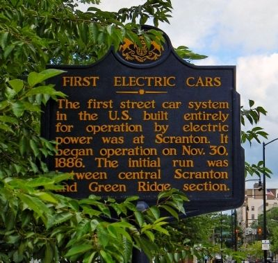 First Electric Cars Marker image. Click for full size.