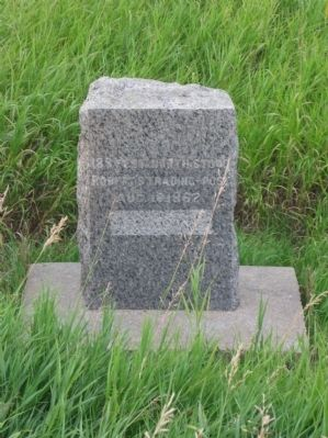 Robert's Trading Post Site Marker image. Click for full size.