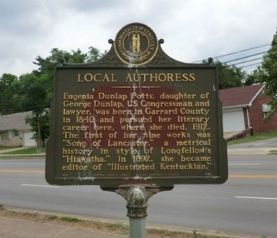 Local Authoress Marker image. Click for full size.