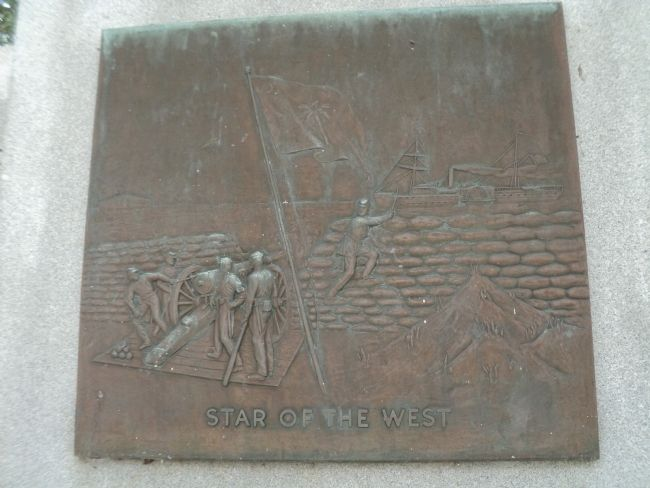 Star of the West Plaque image. Click for full size.