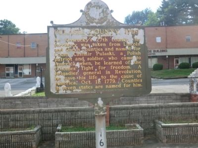 Pulaski County 1799 Marker image. Click for full size.