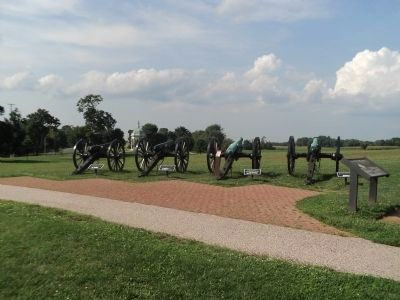 Cannons on the Antietam Battlefield image. Click for full size.