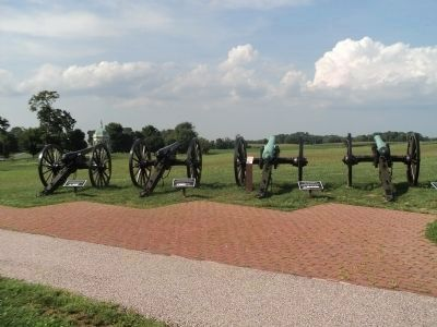 Artillery on the Antietam Battlefield image. Click for full size.