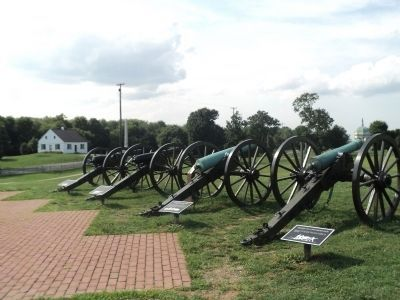 10-Pounder Parrott Rifle and Other Cannon image. Click for full size.