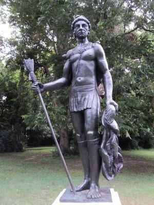 The Kiawah Cassique Statue image. Click for full size.