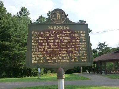 Burnside Marker image. Click for full size.