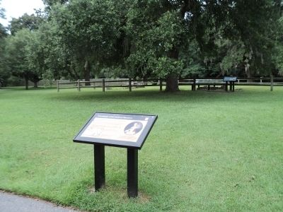 Foundations of the Southern Plantation Marker image. Click for full size.