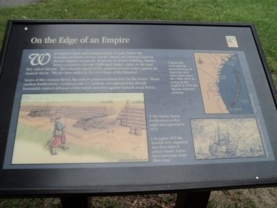 On the Edge of an Empire Marker image. Click for full size.