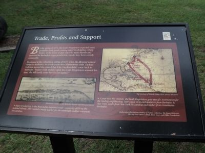 Trade, Profits and Support Marker image. Click for full size.