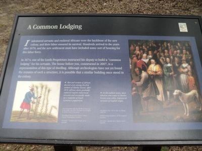 A Common Lodging Marker image. Click for full size.