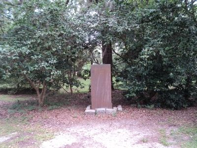 Site of Old Charles Town Marker image. Click for full size.