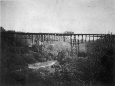 Calvert Street Bridge, 1891 image. Click for full size.