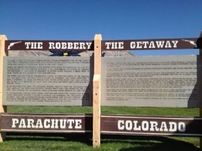 The Robbery - The Getaway Marker image. Click for full size.