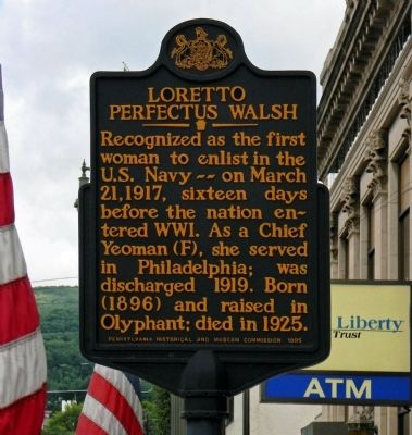 Loretto Perfectus Walsh Marker image. Click for full size.